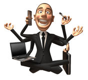 Multitasking Lizenzfreies Stockfoto