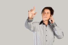 Multitasking Businesswoman Stock Photo