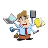 Multitasking Stock Photography