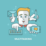 Multitasking Stock Image