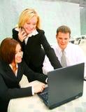 Multitasking Presenter Stock Images