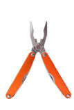 Multitool. Multi tool plier with a lot of usages available. Isolated Stock Photo