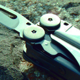 Multitool close up Royalty Free Stock Photos