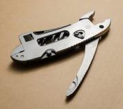 Multitool, kieszeniowy nóż, cążki Fotografia Royalty Free