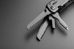 Multitool knife Royalty Free Stock Images