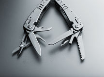 Multitool knife Royalty Free Stock Photo