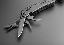 Multitool knife Royalty Free Stock Photography