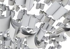 Multitud de compartimientos Imágenes de archivo libres de regalías