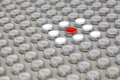 Multitude of buttons Royalty Free Stock Image