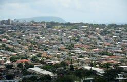 Rooftops of Honolulu Royalty Free Stock Image