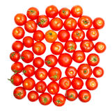 Multitude of tomatoes close-up Royalty Free Stock Images
