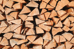 Multitude of wood pieces Stock Image
