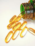 Multivitamin capsule Royalty Free Stock Images