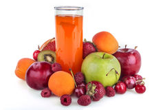 Multivitamin juice Royalty Free Stock Image