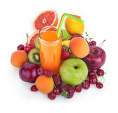Multivitamin juice Stock Photo