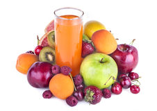 Multivitamin juice Royalty Free Stock Photos