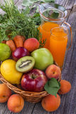 Multivitamin juice Royalty Free Stock Images
