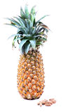 Multivitamins and pineapple Royalty Free Stock Images