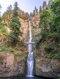 Multnomah, cachoeiras, Colômbia george, curso, Portland, Oregon, OU, EUA fotos de stock royalty free