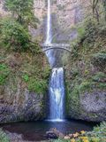 Multnomah cai em Oregon foto de stock royalty free
