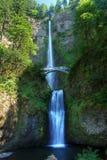 Multnomah cai em Oregon Fotos de Stock Royalty Free