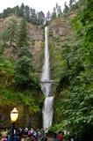 Multnomah cai em Oregon Fotos de Stock