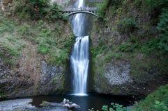 Multnomah Fälle, Oregon Lizenzfreies Stockfoto