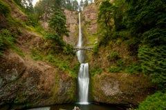 Multnomah faller vattenfallet Fotografering för Bildbyråer