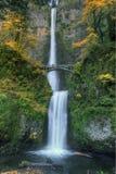 Multnomah Falls. Along Historic Columbia River Highway in Oregon Stock Photography