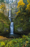 Multnomah Falls Autumn Stock Image