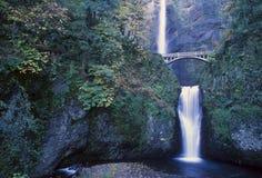 Multnomah Falls, Columbia Gorge, Royalty Free Stock Images
