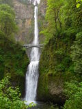 Multnomah Falls Columbia River gorge near Portland Oregon Stock Photography