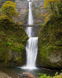 Multnomah Falls at Columbia River Gorge Oregon Stock Photos