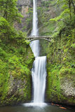 Multnomah Falls in the Columbia River Gorge, Oregon, USA Stock Photography