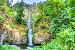 Multnomah Falls Royalty Free Stock Images
