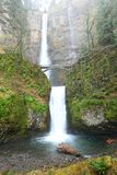 Multnomah Falls in Oregon Stock Photography