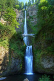 Multnomah Falls in Oregon Royalty Free Stock Photos