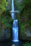 Multnomah Falls in Oregon Royalty Free Stock Images