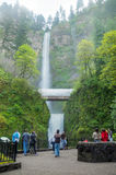 Multnomah Falls in Oregon Royalty Free Stock Photo