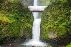 Multnomah Falls in Oregon Stock Photos