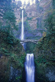 Multnomah Falls view royalty free stock photo
