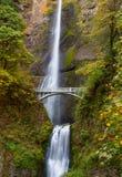 Multnomah Falls view Stock Images
