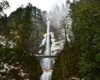 Multnomah Falls, Oregon stock photography