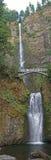 Multnomah nedgångar - Columbia klyfta, Oregon Royaltyfria Bilder