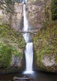 Multnomah spadki, Kolumbia wąwóz Zdjęcie Stock