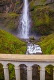 Multnomah tombe en gorge du fleuve Columbia, Orégon photographie stock libre de droits