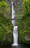 Multnomah Water Falls, Pacific Northwest, Oregon Royalty Free Stock Image