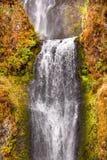 Multnomah Waterfall Columbia River Gorge Oregon Stock Photography