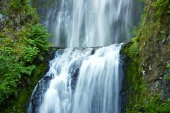 Multnomah Waterfalls Royalty Free Stock Image
