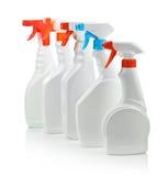 Multy spray bottle. Isolated on white Stock Images